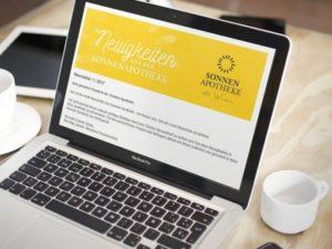 Sonnen Apotheke Newsletter